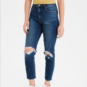 🌈 AE Denim Mom Jeans